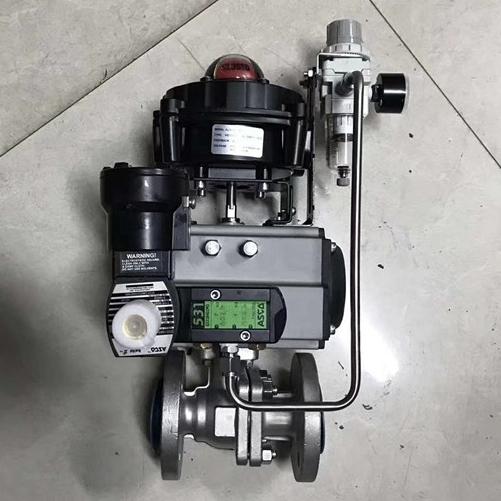 气动控制球阀Q641F-PN16