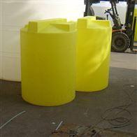 黄石500L平底防腐加药桶配计量泵带搅拌价格