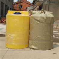 武汉200L水处理阻垢剂加药桶带计量泵