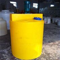 益陽100L消毒水攪拌桶加藥箱配計量泵攪拌