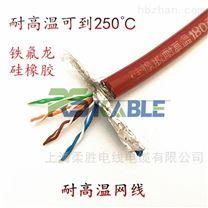 铁氟龙耐高温屏蔽网线200/250度4*2*0.5mm