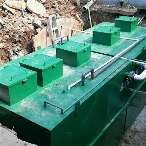 吕梁农村污水处理一体化地埋设备