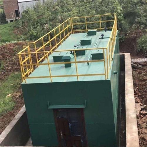 学校-污水处理一体化设备加工厂