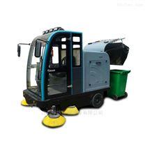 江西物業環衛清掃樹葉用電動掃地車