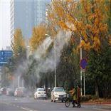 南京路灯喷雾系统