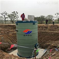 地埋污水提升泵站在性能上和建造上的优势