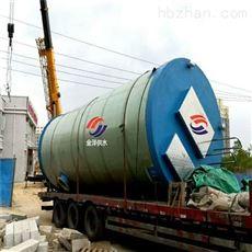 新疆塔城8000m3/h埋地式一体化污水提升泵站