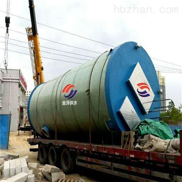 吉林辽源一体化污水提升泵站项目