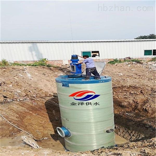 一体化雨水提升泵站排水系统中的无名英雄
