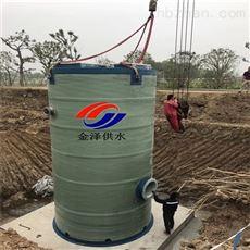 智能一体化污水泵站解决了低洼处排水的问题