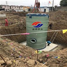 FRP/GRP玻璃钢预制式泵站 安装周期7天