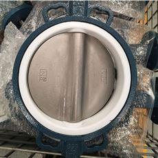優質高效率供水RPTFE對夾蝶閥