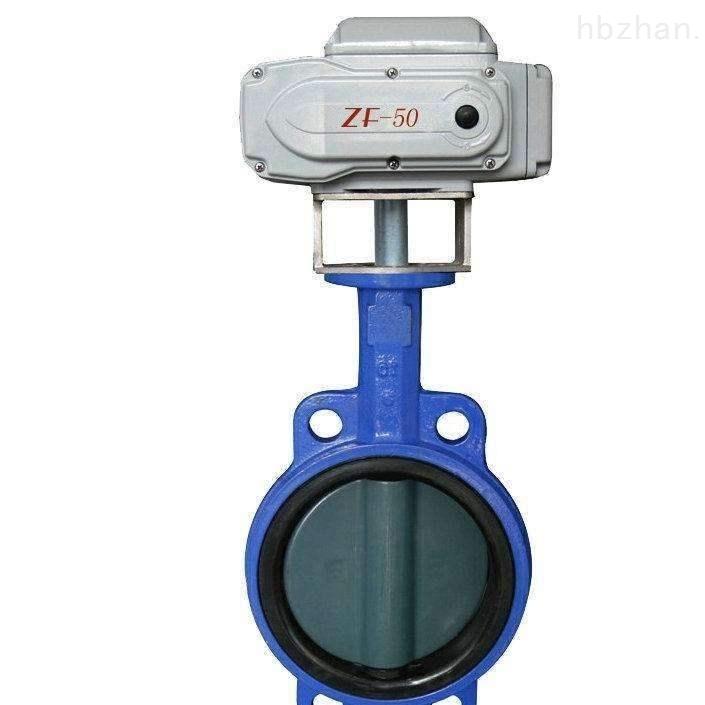 D971Si对夹式硅胶密封电动卫生级蝶阀