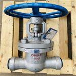 SMZ61Y-160C铸钢高压焊接闸阀SMZ61Y-100C