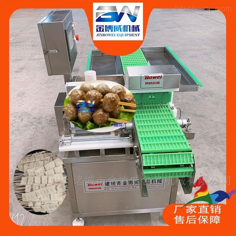 金博威生产烤肠穿串机