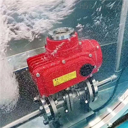 IP68级潜水型电动球阀