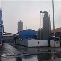 潍坊沥青搅拌站烟气净化电捕焦油器工程案例