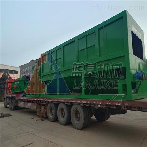 蓝基建筑垃圾处理生产线在桂林投产成功