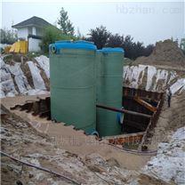 地埋式预制污水一体化泵站