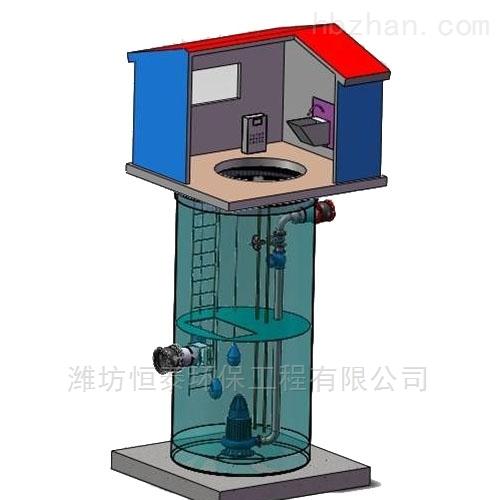 海口市污水提升泵站的优点