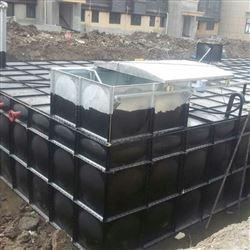 10×5×3抗浮式地埋箱泵一体化 无底板地埋水箱