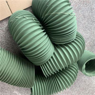 新型产品防火尼龙布风琴除尘排风管