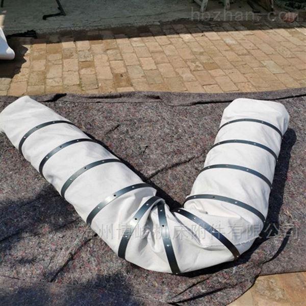 超长水泥卸料帆布耐磨伸缩布袋专业生产
