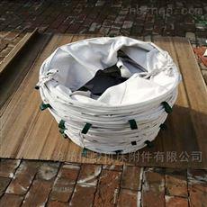 环保防尘帆布卸料伸缩布袋定做