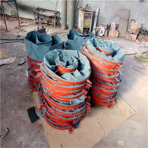 水泥搅拌机加厚耐磨防漏帆布卸料布袋