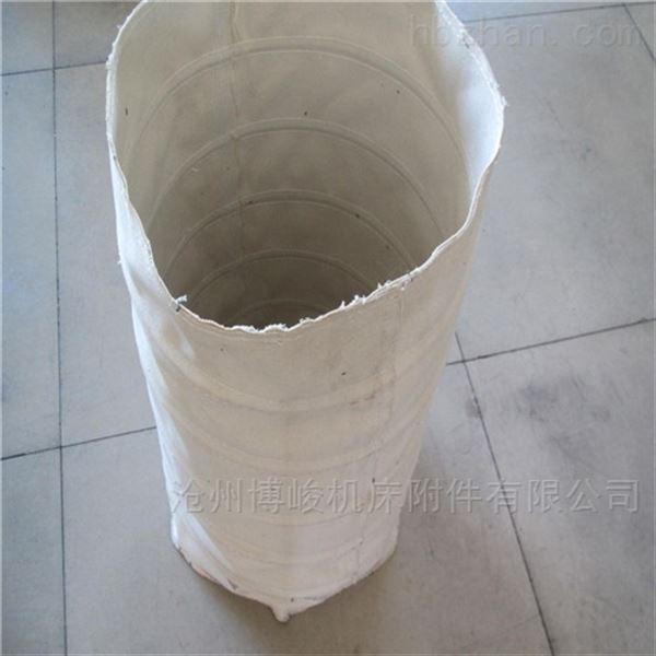 耐磨卸料收尘防腐蚀帆布伸缩布袋规格