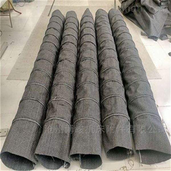 水泥除尘帆布伸缩布袋规格定做
