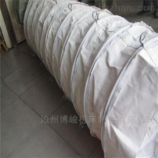 福州干燥机粉尘颗粒输送伸缩布袋直供