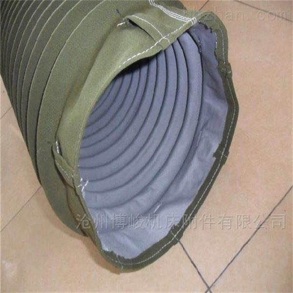 耐磨帆布卸料布袋厂家生产