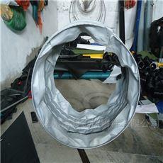 水泥卸料收尘耐磨损伸缩布袋定做