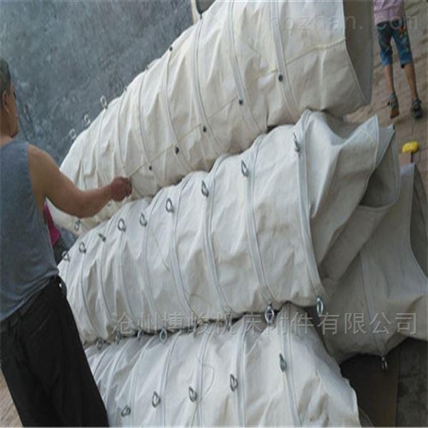 优等帆布粮食除尘伸缩布袋厂家直销