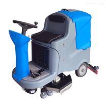 860洗地吸干刷地机 电动智能洗地机