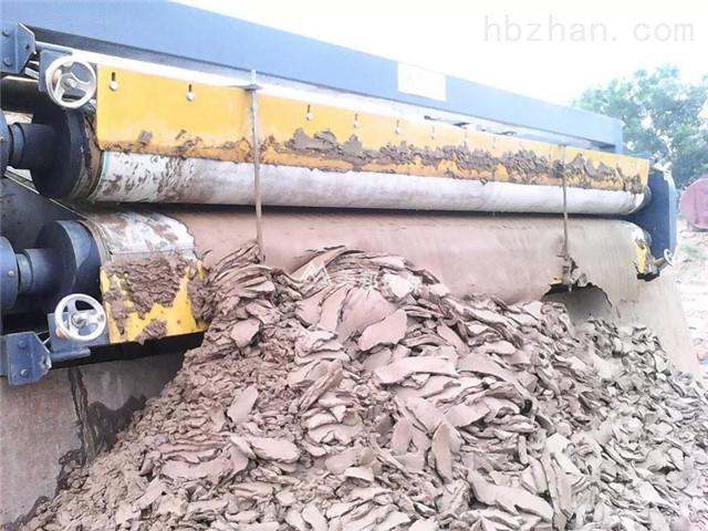 广东洗石粉污泥脱水处理效果