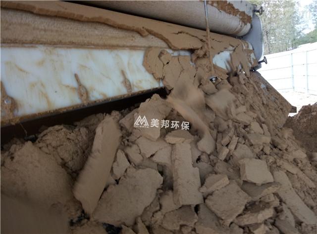 青海洗山沙淤泥处理