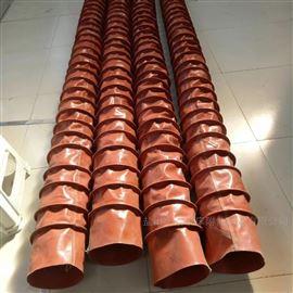 耐高温硅胶布伸缩通风管