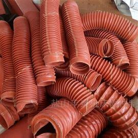 武汉耐高温硅胶固体粉尘下料管厂家