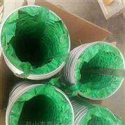 绿色三防布螺旋通风管河北厂家