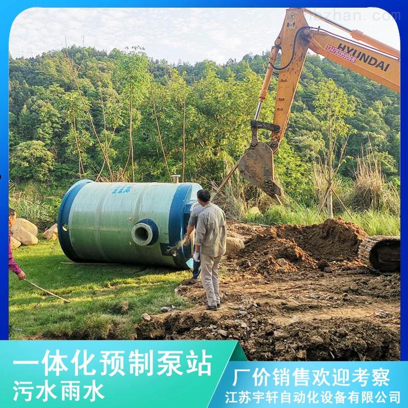 南京污水提升泵站厂家报价