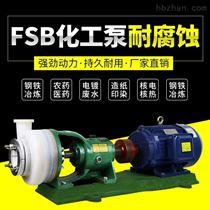 100FSB-32L耐腐蚀氟塑料分体式化工泵