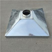 禅城品牌螺旋风管厂专业加工白铁皮烟罩