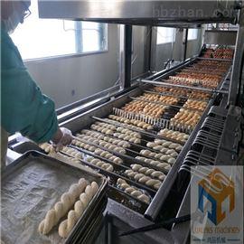 SP-7000全自动面包麻花油炸机生产厂家