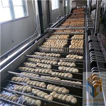 厂家直销电加热面包麻花油炸线