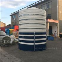 周口可以放20吨污水的储罐PE蓄水箱怎么安装