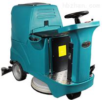 三刷驾驶式自动洗地机