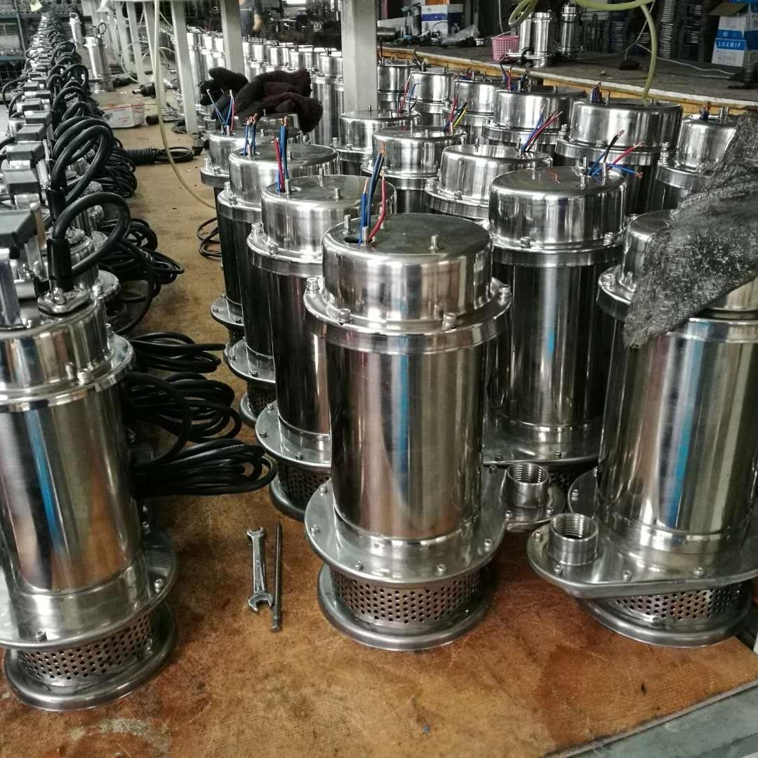 QDX不锈钢单相潜水泵