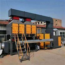 喷漆房催化燃烧设备大恒机械废气处理设备